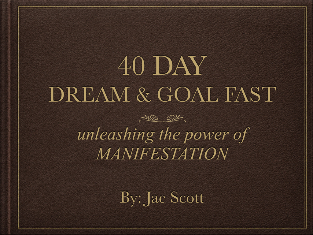 40 Day Dream & Fast E-Journal Cover