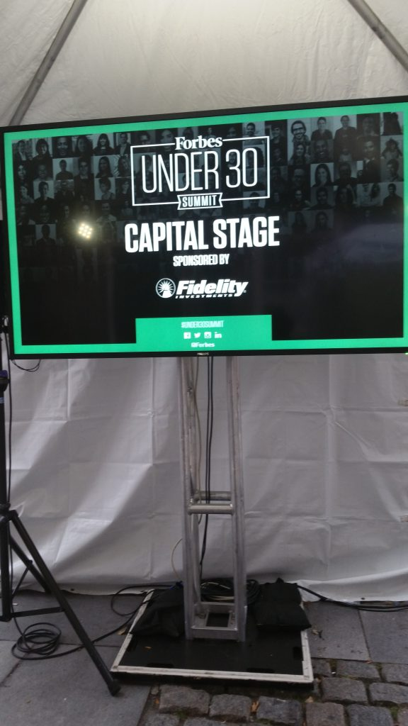 Capital Stage at the Forbes under 30 Summit