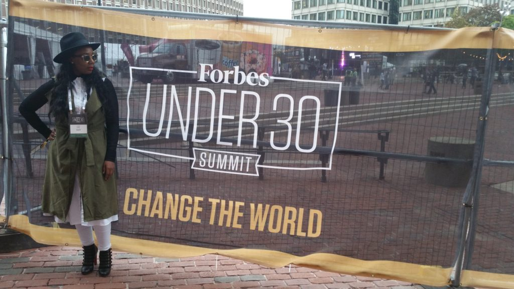 Jae Scott at Forbes under 30 Summit